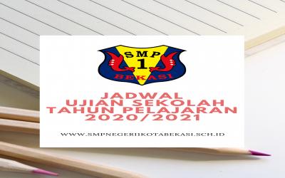 JADWAL UJIAN SEKOLAH ONLINE TAHUN PELAJARAN 2020/2021