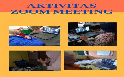 Kegiatan Aktivitas Guru SMPN 1 Bekasi Menggunakan Zoom Meeting