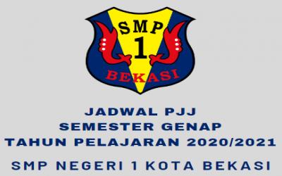 JADWAL PEMBELAJARAN JARAK JAUH (PJJ) SEMESTER GENAP TAHUN PELAJARAN 2020/2021