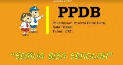 PPDB ONLINE KOTA BEKASI 2021